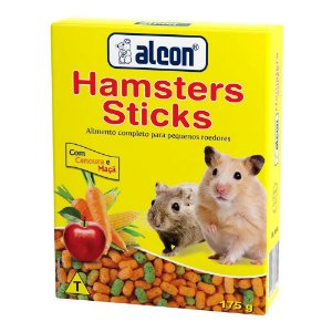 Ração Alcon Hamsters Sticks 175g