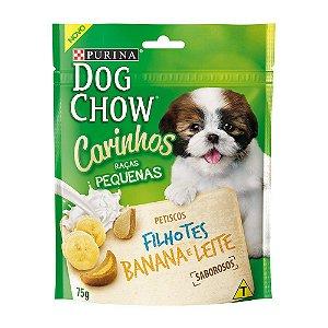 Petisco Dog Chow Carinhos Filhote Banana E Leite 75g
