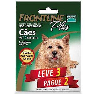 Frontline Plus Para Cães De 1 a 10kg (Combo) Leve 3 Pg 2