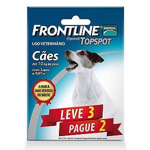 Frontline Topspot Para Cães De 1 a 10kg (Combo) Leve 3 Pg 2