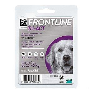 Frontline Tri-ACT G Para Cães De 20 a 40kg