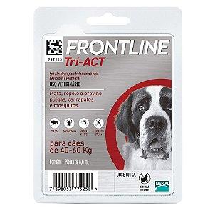 Frontline Tri-ACT GG Para Cães De 40 a 60kg