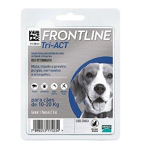 Frontline Tri-ACT M Para Cães De 10 a 20kg
