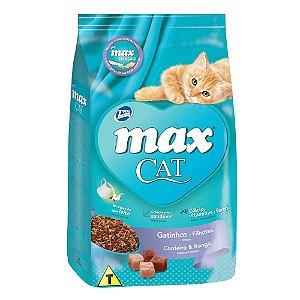 Ração Max Cat Sabor Cordeiro e Frango Para Gatos Filhote 1kg