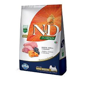 Ração N&D Pumpkin Para Cães  Adultos De Raças Pequenos Sabor Cordeiro, Abóbora e Blueberry 800g