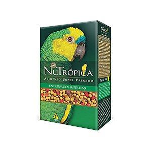 Ração Nutropica Papagaio Frutas 300g