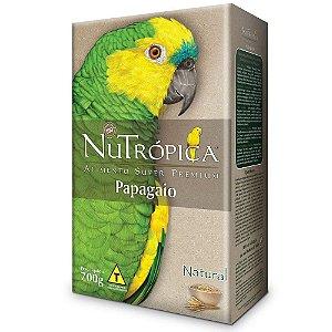 Ração Nutropica Papagaio Natural 700g