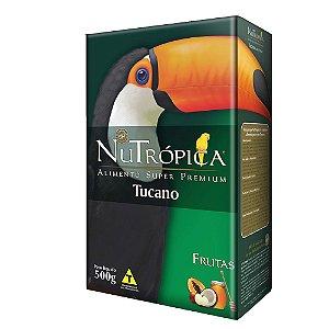 Ração Nutropica Tucanos Frutas 500g