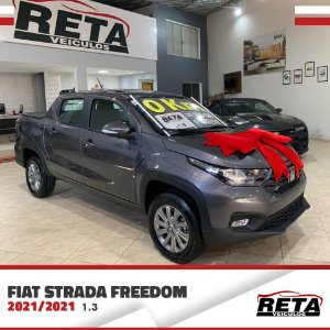🚗 Fiat Strada Freedom Cabine Dupla 1.3 - 2021/2022  🚗
