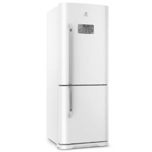 Refrigerador Electrolux Frost Free DB53 Bottom com Painel Blue Touch 454L - Branco