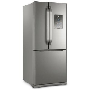 Refrigerador Electrolux Multidoor DM84X Frost Free com Ice Twister 579L - Inox  [0,1,0]