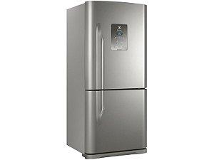 Refrigerador Electrolux DB84X Frost Free com Bottom Freezer 598L - Inox