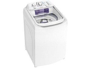 Lavadora de Roupas Electrolux Automática LAC12 Topload com Dispenser Autolimpante e Cesto Inox 12kg - Branca  [0,1,0]