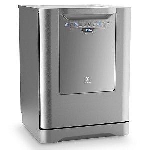 Lava-Louças Electrolux LI14X 14 Serviços com Painel Blue Touch - Inox