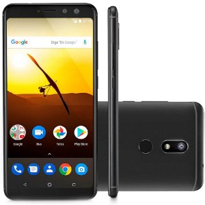 Smartphone Multilaser MS80, Octa Core, Android 7.1, Tela 5.7