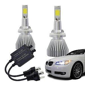 Lampadas Automotiva Multilaser Super Led H27 12V 30W 6200K -
