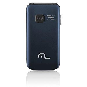 Celular Flip Vita Câmera Rádio MP3 Lanterna Botão SOS Dua