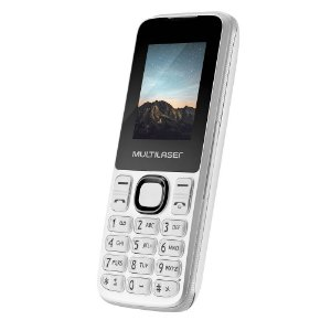 Celular New Up Dual chip com Câmera e Bluetooth MP3 Branco