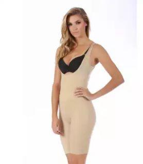 Modelador Yoga Soft Com Pernas Busto Pré Moldado