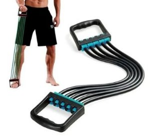 Expansor Elástico Para Treinos Físicos Musculares Braço Fit