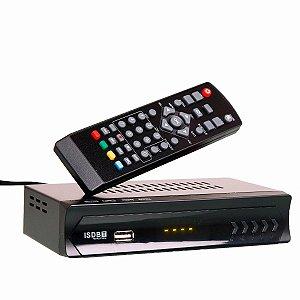 Conversor TV Digital Full HD 1080p Set top box Gravador
