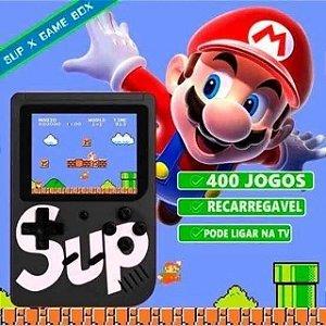 Mini Game Retrô 400 Jogos Nintendo 8 Bits Portátil e Joga na TV