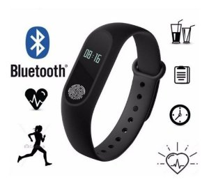 Relógio Smartwatch Medidor Pulseira Inteligente Pulso M2