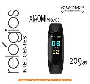 Relógio Smartwatch Inteligente Pulseira Xiaomi Mi Band 3 Bluetooth