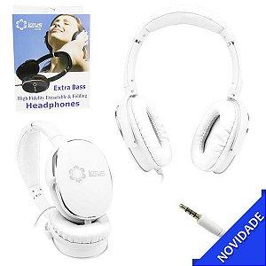Fone De Ouvido Headphone Extra Bass Com Microfone P2 Lotus LT-199