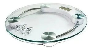 Balança Digital De Vidro Banheiro 180 Kg Novo Garantia