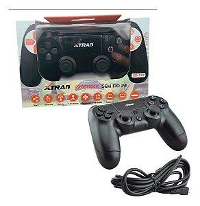 Controle Ps4 Xtrad Dualshock Sem Fio Modelo Xd-522 AZ Importados