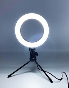 Ring Fill Light Led Fhs-16 Anel De Led Fotografia
