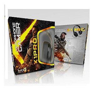 Fone Ouvido Headphone Microfone Gamer Celular X1-pro