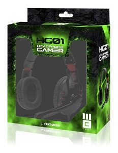 Headphone Fone Microfone Gamer Mbtech Modelo Hg01
