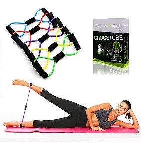 Elástico De Tensão Exercícios Funcional Alongamento Fitness