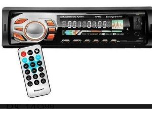 Som Automotivo Ecopower Ep-601Bluetooth Mp3 Usb Sd Controle 45w Fm