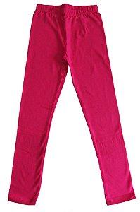 Calça Legging Cotton Menina Pink - Gueda