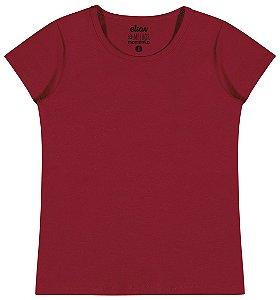 Blusa em Cotton Confort Menina Vermelho - Elian