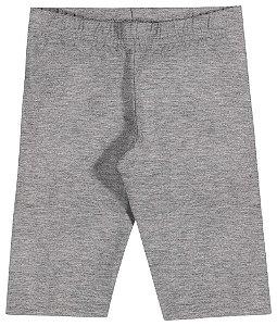 Shorts Ciclista em Cotton Confort Menina Mescla - Elian