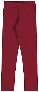 Legging em Cotton Confort Menina Vermelho - Elian