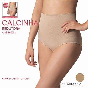 CALCINHA REDUTORA COS MEDIO SEM COSTURA