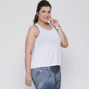 CAMISETA REGATA- FITNESS PLUS SIZE