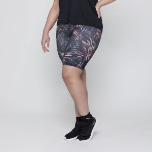 BERMUDA ESTAMPADA - FITNESS PLUS SIZE