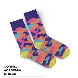 MEIA ESPORTIVA CANO MEDIO - CORRIDA / ACADEMIA