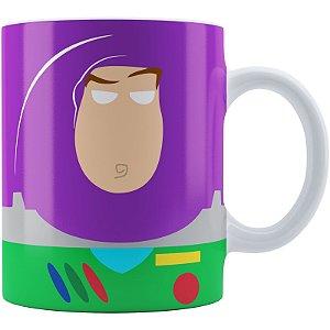 Caneca Toy Story Buzz Lightyear Minimalista 01