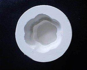 Molde de Silicone Bolinho de Dois Andares
