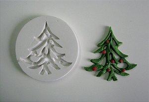 Molde de Silicone Árvore de Natal