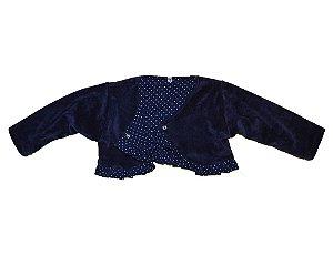Bolero Plush Azul Marinho