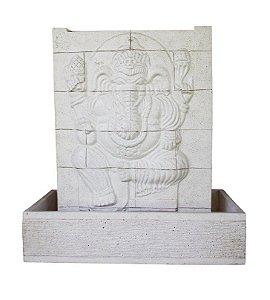 Fonte de Água Decorativa Ganesha em Painel