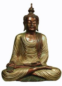 Buda Thai Meditando 90cm